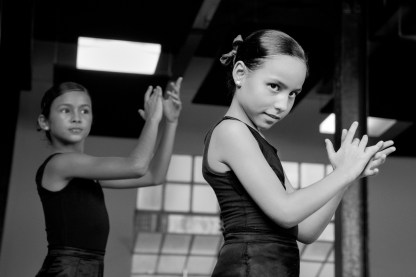 Young Dancers at the Lizt Alfonso Dance Company, Havana