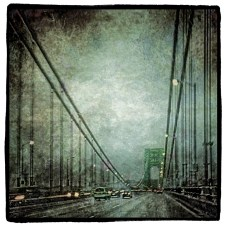 George Washington Bridge in Rain
