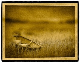 Rowboat in Grasses, Cape Cod
