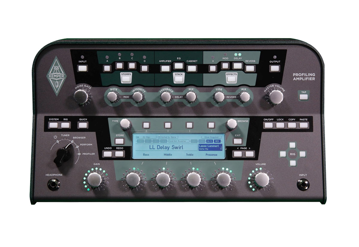 Kemper Amp Profiler