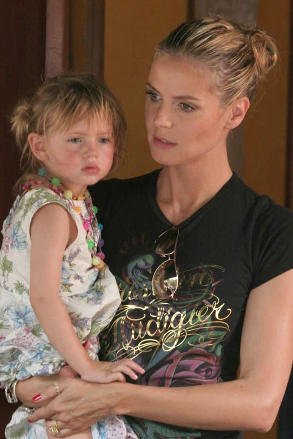 Heidi Klum, daughter of Heidi Klum, Leni, Leni Briatore, June 2, 2007
