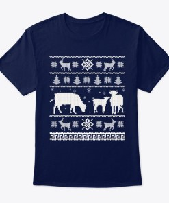 Cow Ugly Christmas Sweater