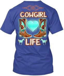 Cowgirl Life Horse Shirt Hoodie