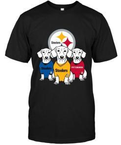 Dachshund Pittsburgh Steelers Shirt