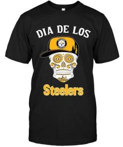 Dia De Los Pittsburgh Steelers Sugar Skull Poco Loco Shirt