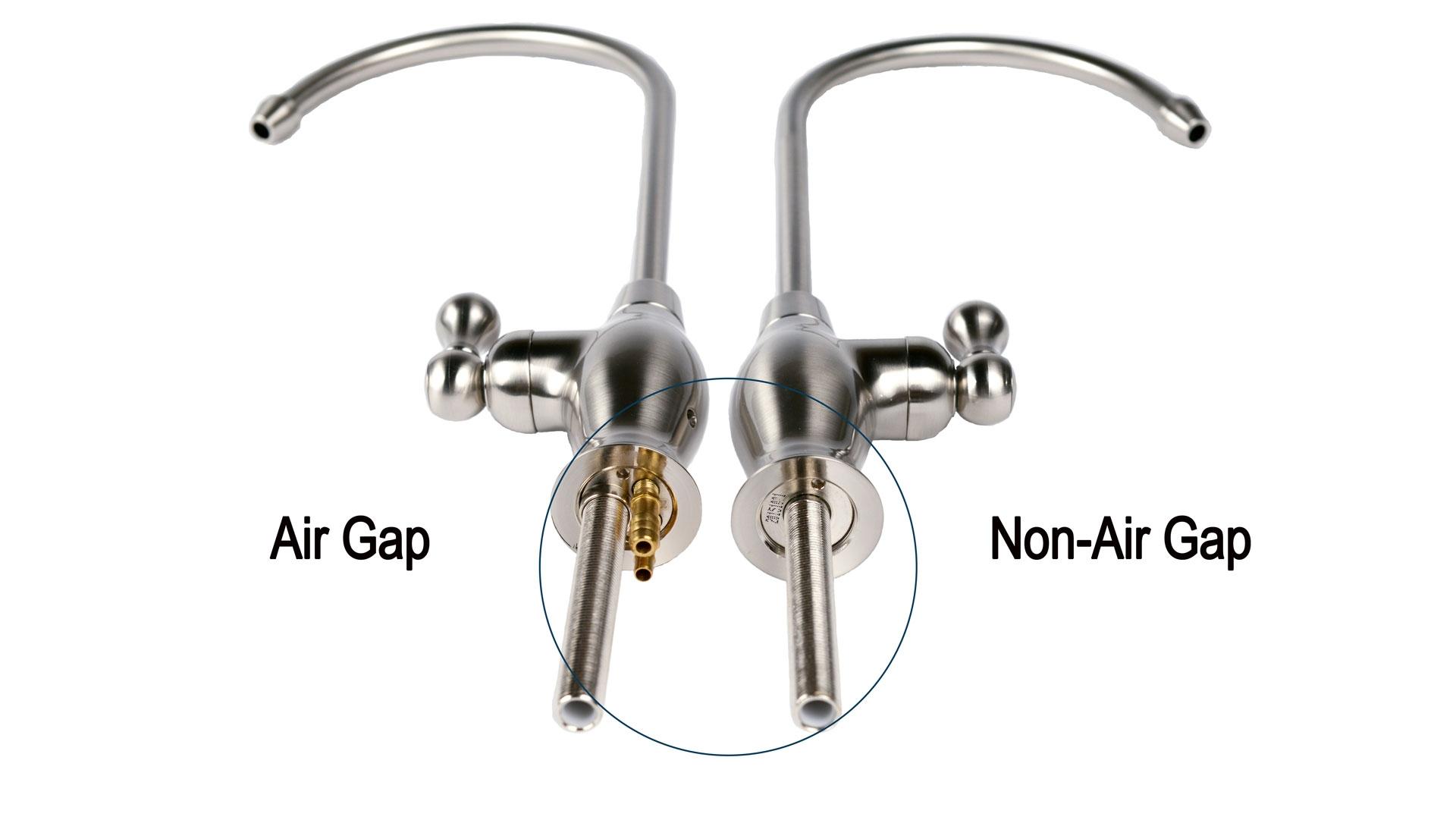 Reverse Osmosis Water Filter Air Gap Faucet