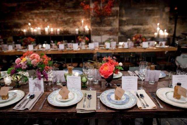 Family Style Reception Dinner Weddbook