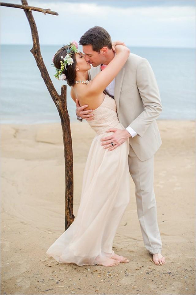 The Perfect Beach Wedding In Chicago Weddbook