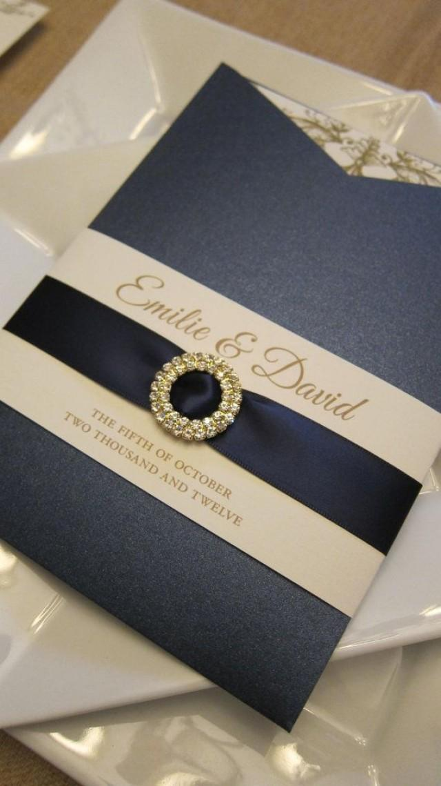 Invitation Pocket Sleeve