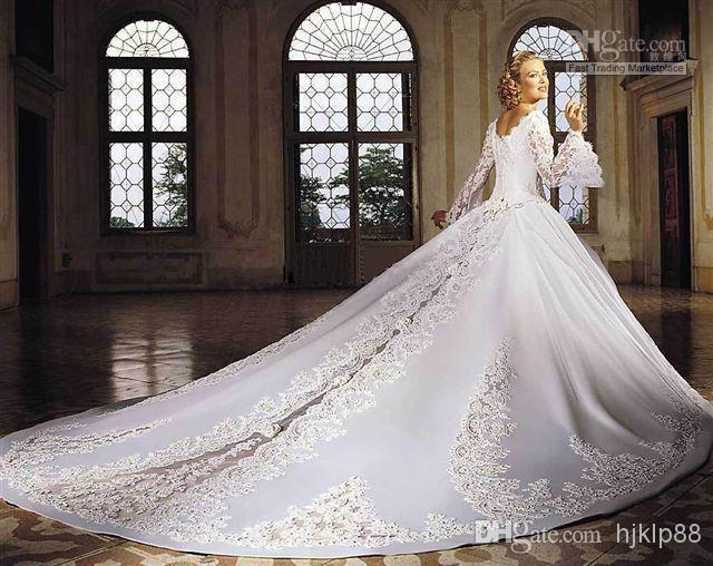 Ivory Off The Shoulder Ball Gown Wedding Dresses With Lace
