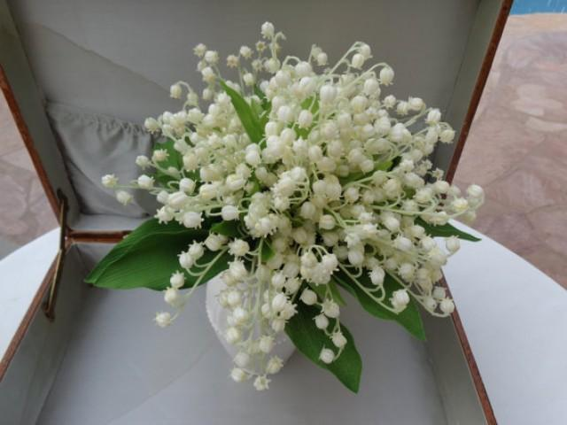 Bridal Bouquet In Lily Of The Valley