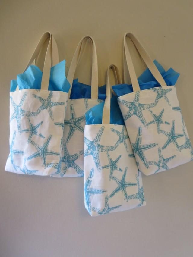 Bridesmaid Totes 7 Starfish Mini Totes Bridesmaids Bag