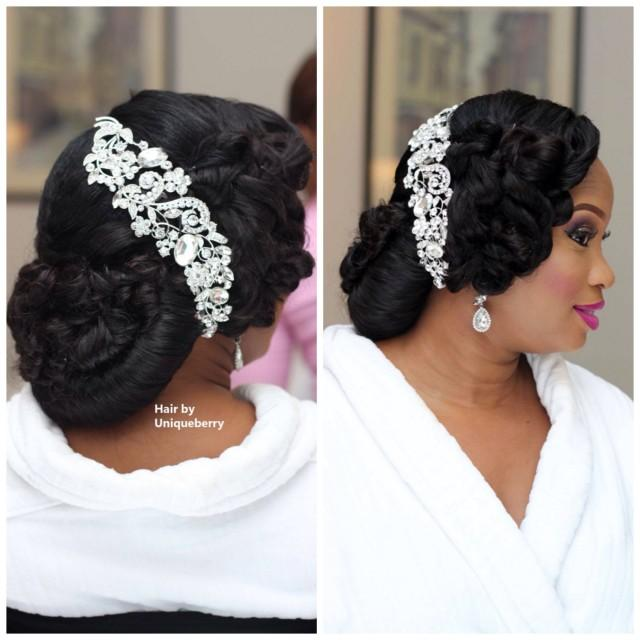 My Wedding Nigeria Bridal Hair Inspiration Weddbook