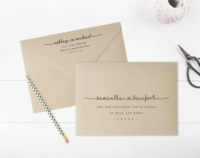 A Envelope Printing Template - A7 envelope printing template