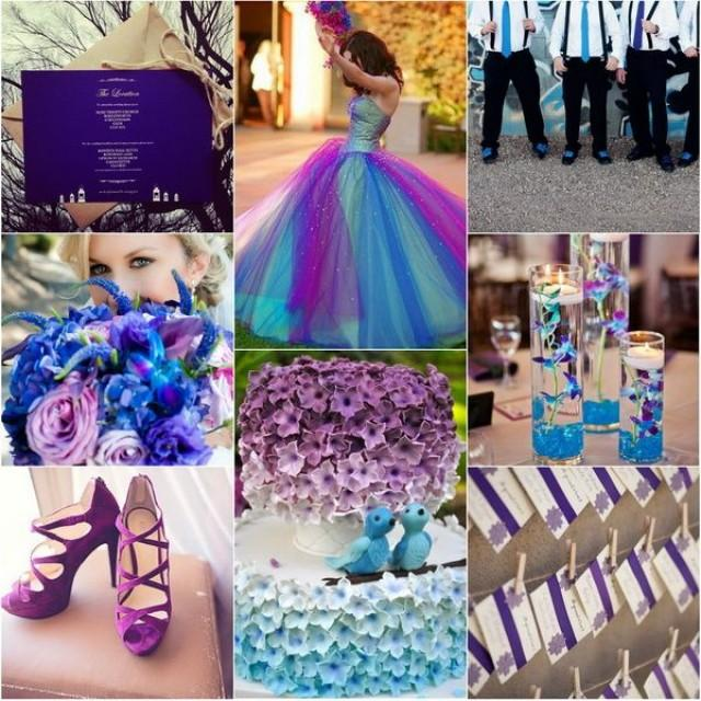 Wedding TrendsBlue Wedding Color Themes For Winter 2013