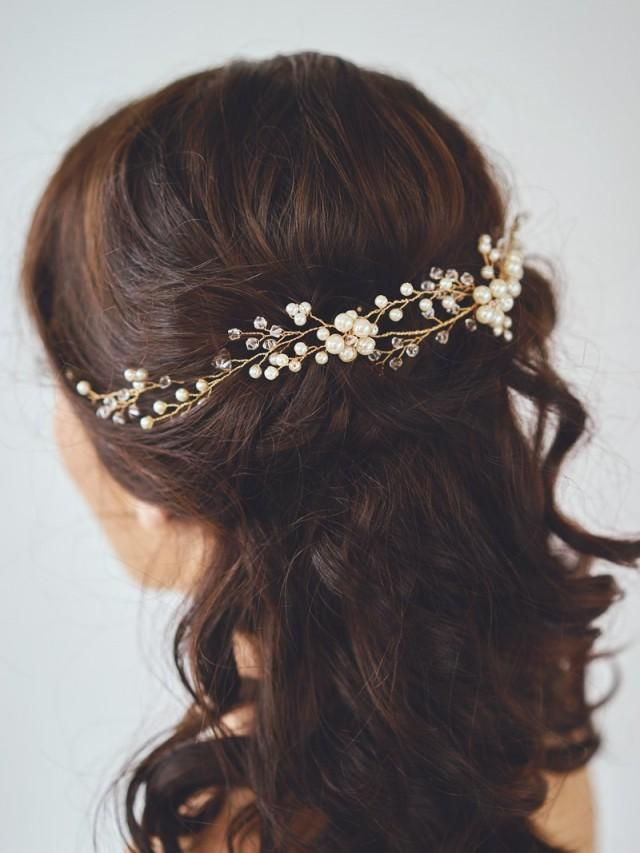 Hair Bridal Hair Wreath 2536144 Weddbook