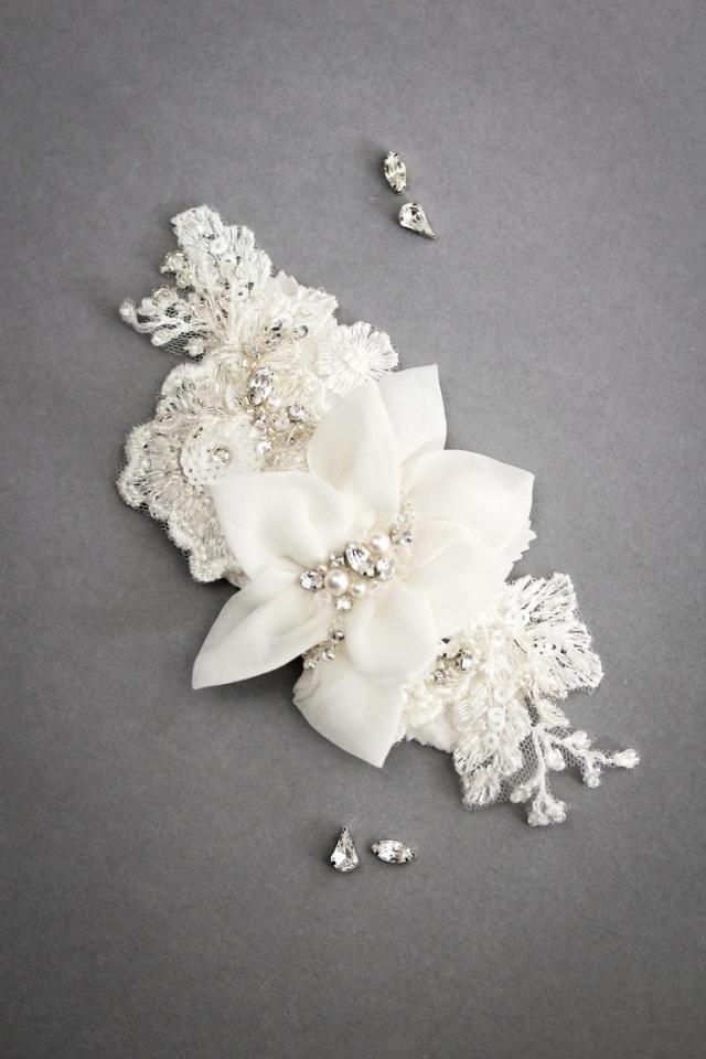hochzeits-nail designs - bridal hair accessories #1997873