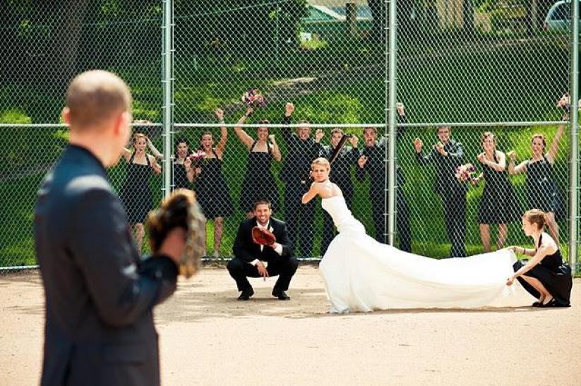 Sports Wedding - Sports Wedding Inspiration #2058275 - Weddbook