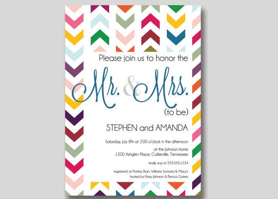 Couples Bridal Shower Invitations Fascinating Wedding