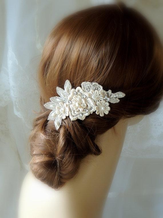 Wedding Hair Accessories Wedding Ivory Hair Comb