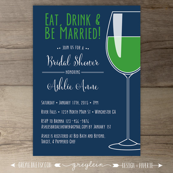 Wine Themed Wedding Invitation Wording Wine Country Bridal Shower – Wine Tasting Party Invitation Wording