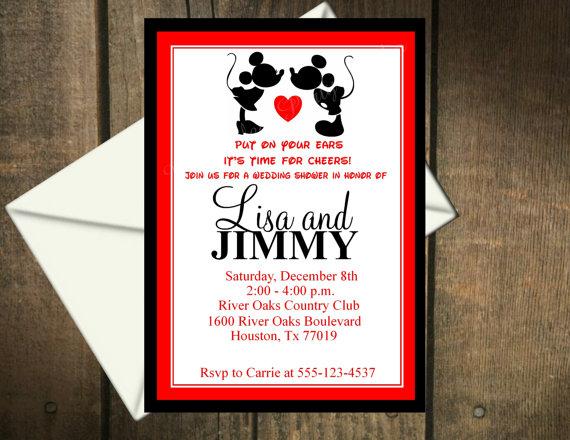 Wedding Shower Invitation Printable