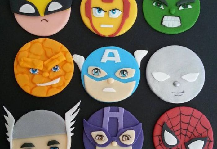 Marvel Dc Avengers Justice League Superhero Inspired Fondant