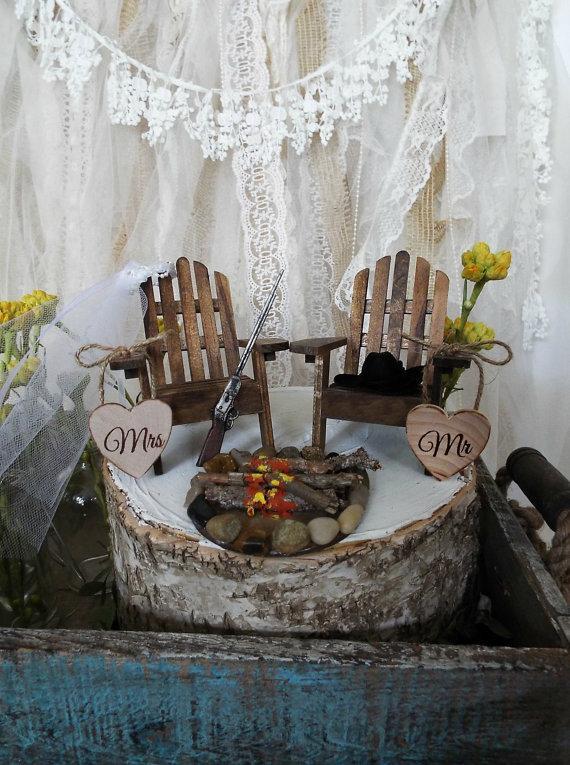 Miniature Chair Lake House Shot Gun Campfire Camping