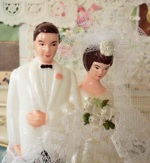 Vintage   Wedding Cake Topper   Bride And Groom   DIY   Bridal     Vintage   Wedding Cake Topper   Bride and Groom   DIY   Bridal Shower Cake  Decoration
