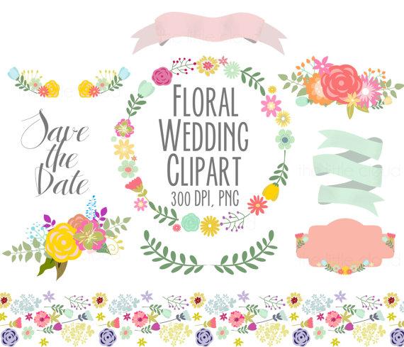 Vintage Ribbon Banner Wedding Invitation Frame Vector