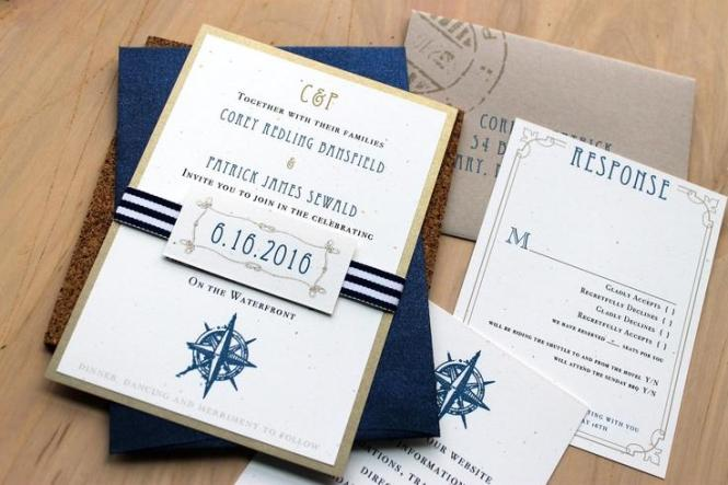 Beach Wedding Invitations Destination