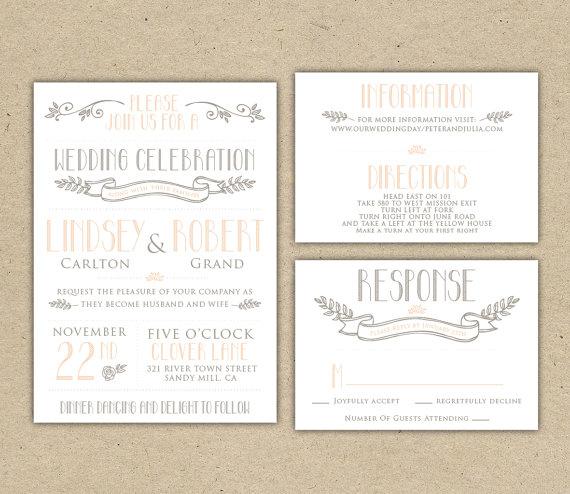 Wedding Invitation Sample Instant 1007 2353499
