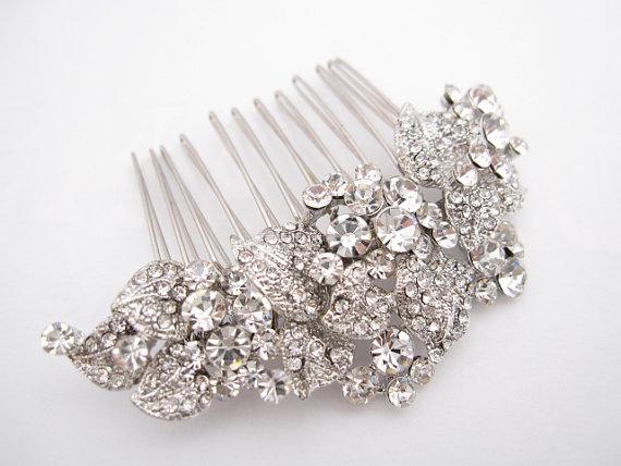 wedding hair accessories rhinestone bridal comb bridal hair piece wedding hair comb wedding comb hair accessory bridal hair comb headpiece