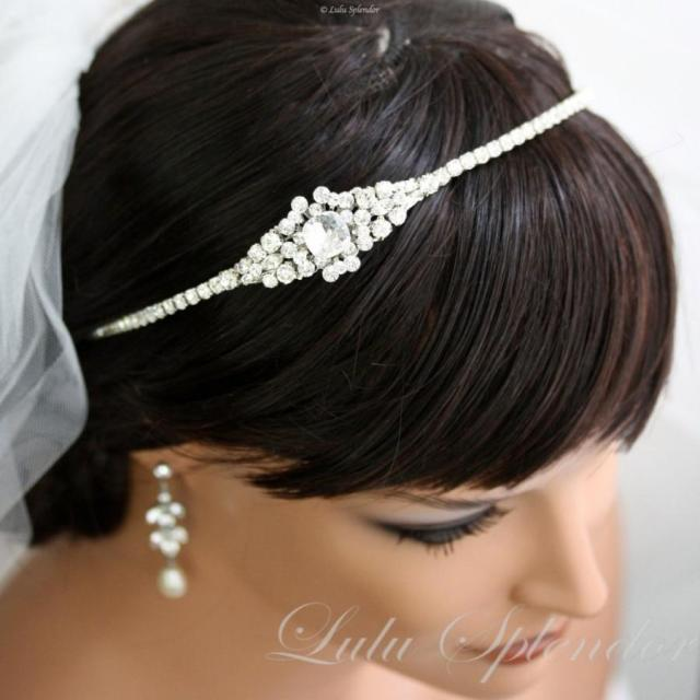 crystal headband wedding hair accessories bridal headband