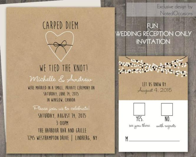 Fall Wedding Invitations By Arbor Corner Studio Via Oh So Beautiful Paper 3
