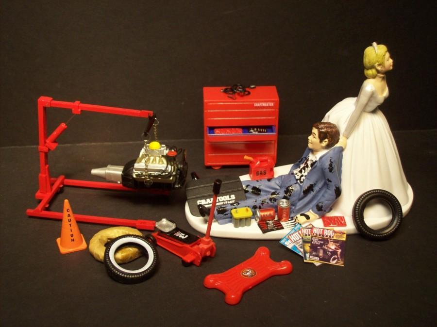 AUTO MECHANIC Tool Set WEngine Stand Mac Set Wedding Cake
