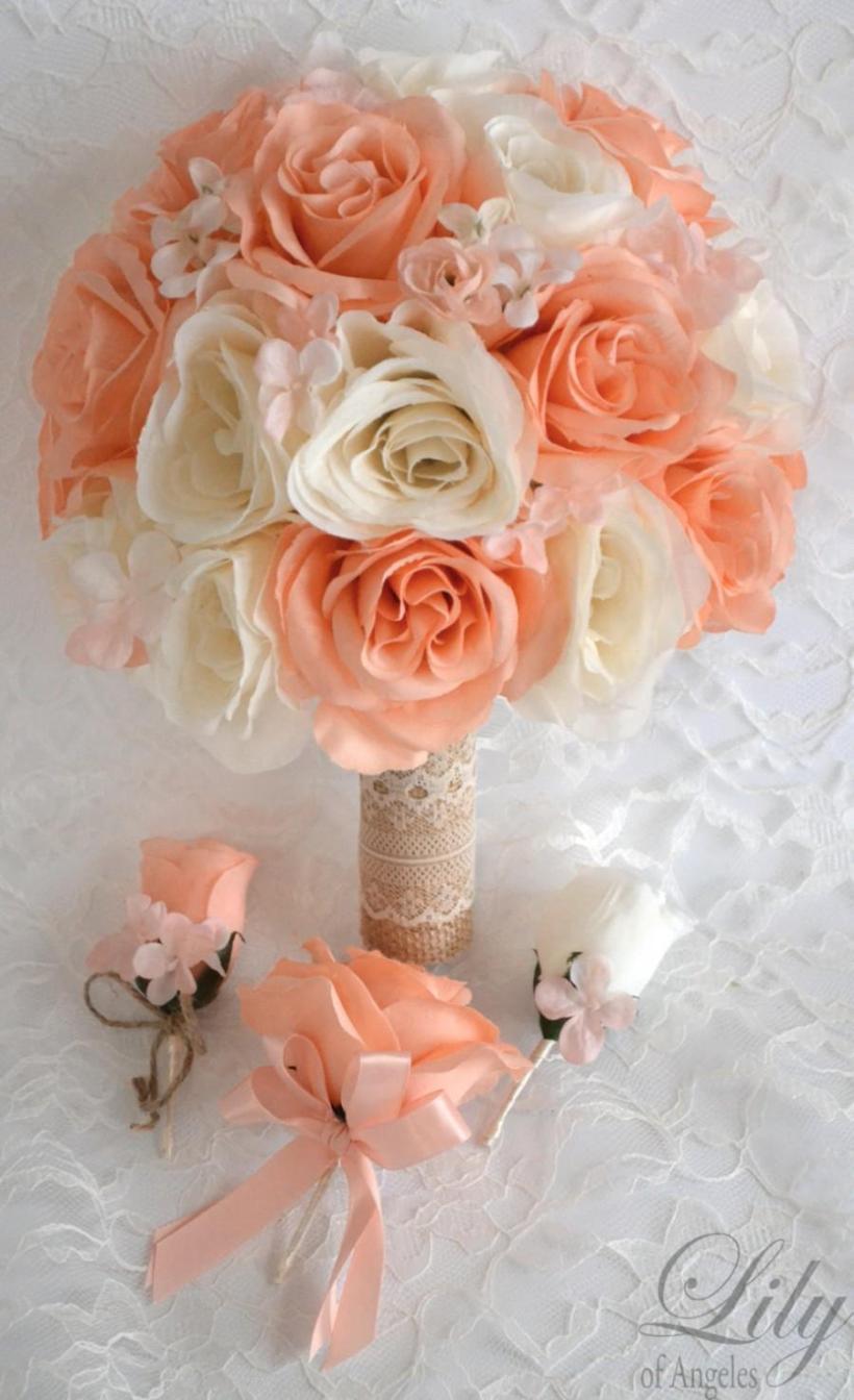 Rustic Wedding Bouquets Fake Deweddingjpg