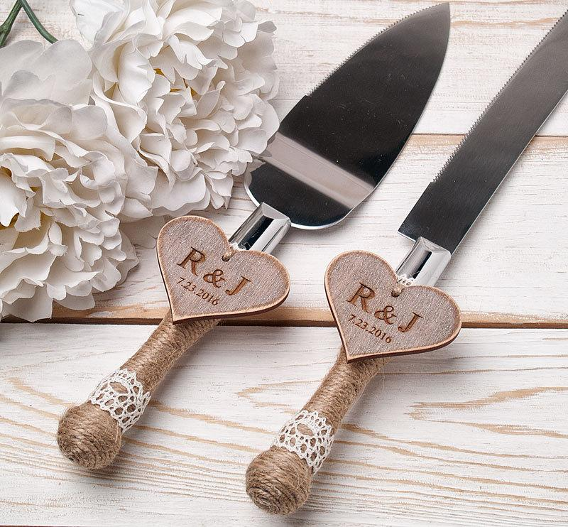Cake Serving Set Rustic Wedding Cake Cutting Set Wedding Cake Knife     Cake Serving Set Rustic Wedding Cake Cutting Set Wedding Cake Knife Set  Wedding Cake Servers Wedding Cake Cutter Cake Decoration