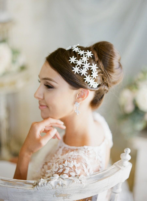 Bridal TiaraRoyal Bridal TiaraStars Wedding Crown