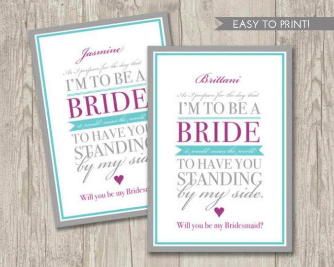 free printable bridesmaid invitations newsinvitation co