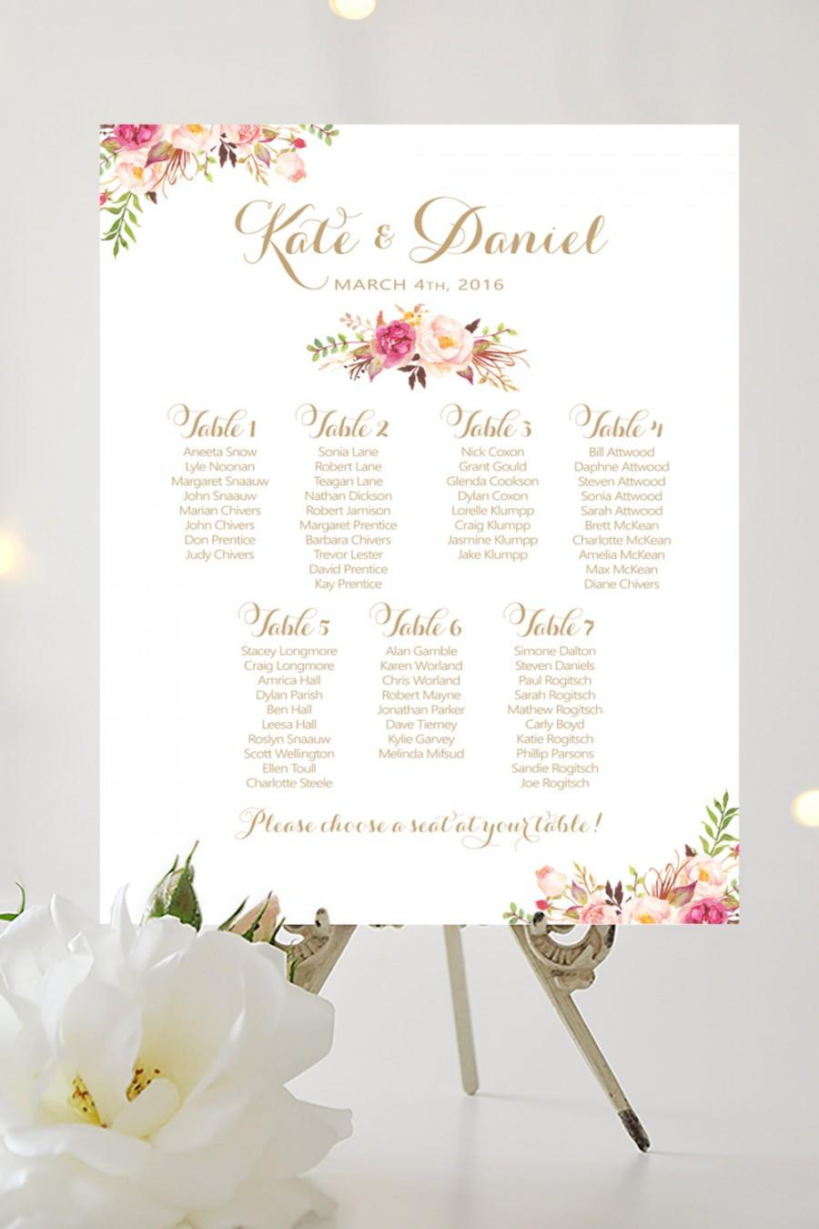 large seating chart crian