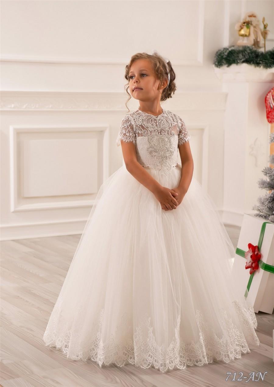 Lace Flower Girl Dresses Weddings
