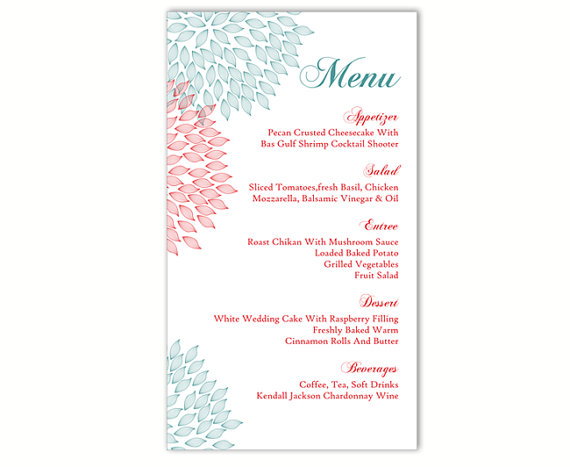 Doc400560 Free Menu Templates Printable The House That Lars – Menu Templates Free Download Word