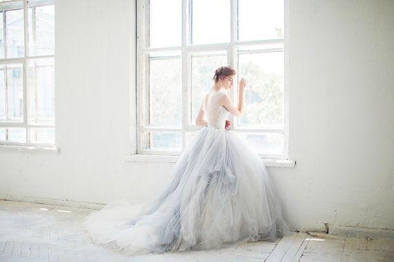 Tulle Wedding Gown // Gardenia // 3 Pieces (bodysuit Tulle