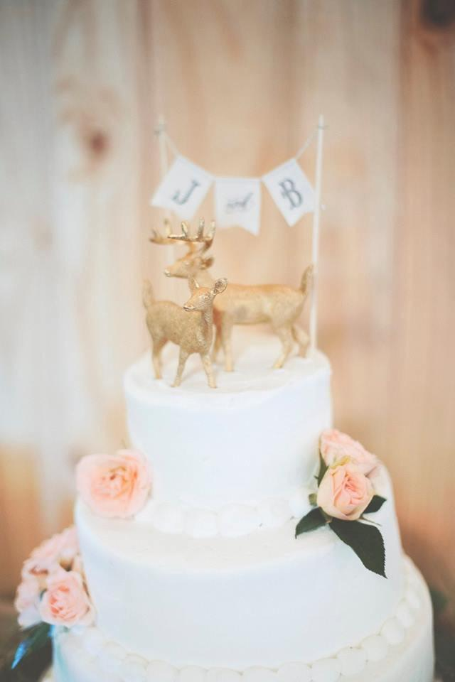 Rustic Cake Topper  Wedding Golden Deer  Gold Bride   Groom     Rustic Cake Topper  Wedding Golden Deer  Gold Bride   Groom  Woodland  Rustic Animal