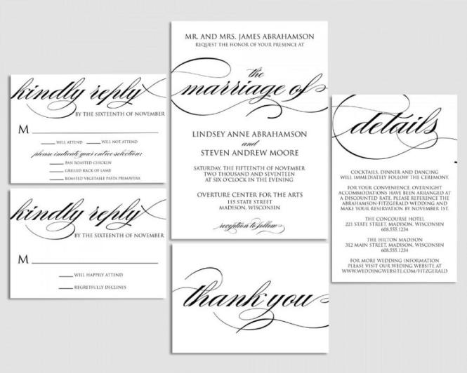 2 Lavender And Mason Jar Wedding Invitation