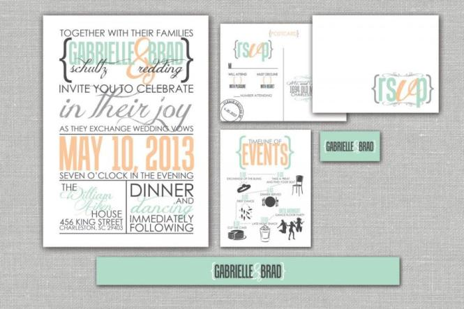 We Can Custom Design Your Invitations Wedding