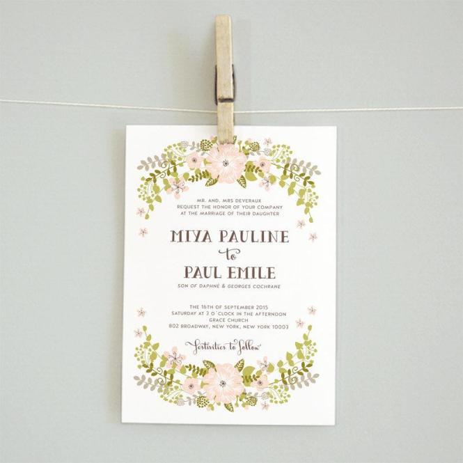 Printable Diy Wedding Invitation Suite