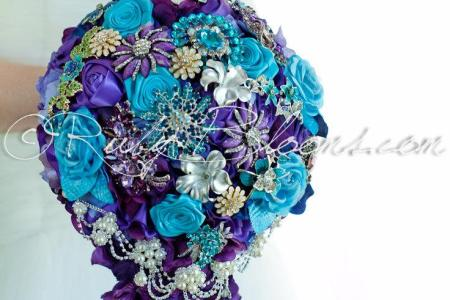 turquoise and purple wedding theme » Path Decorations Pictures ...
