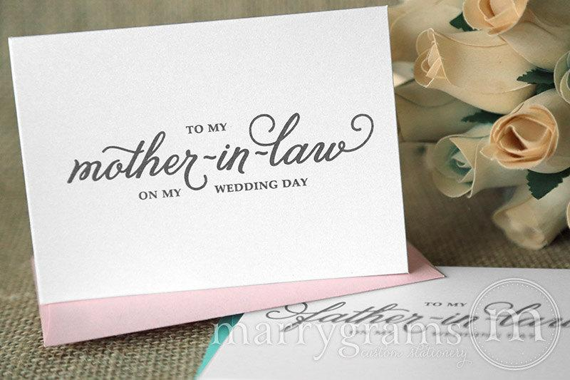 Wedding Card To Your Future Mother-in-Law & Father In-Law